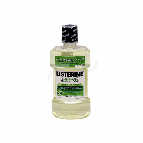 LISTERINE NATURAL GREEN TEA 500 ML BOTOL