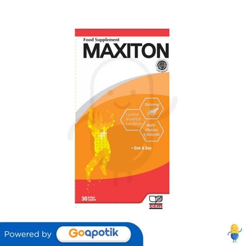 MAXITON BOTOL 30 KAPSUL