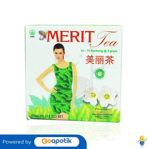 MERIT BOX 15 TEA BAGS