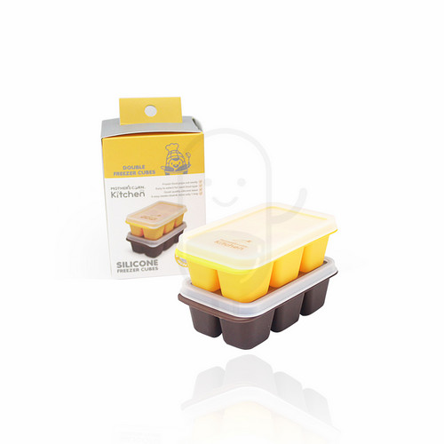 MOTHER'S CORN SILICONE FREEZER CUBE BOX 2 PCS