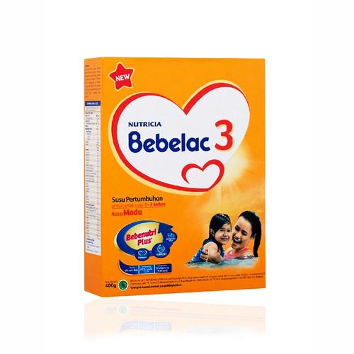 NUTRICIA BEBELAC 3 USIA 1-3 TAHUN RASA MADU 400 GRAM BOX