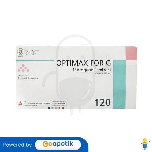 OPTIMAX FOR G BOX 30 KAPSUL