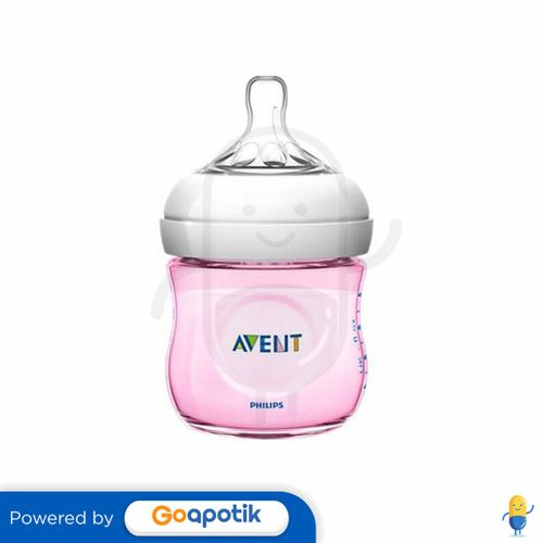 PHILIPS AVENT NATURAL SCF691/17 BOTOL SUSU BAYI WARNA PINK 125 ML