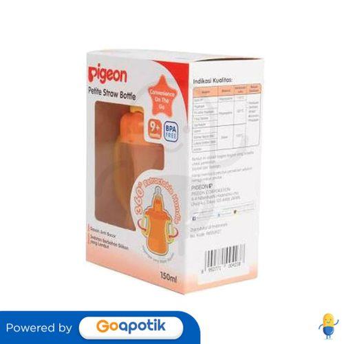 pigeon_petite_straw_botol_minum_warna_orange_150_ml_1