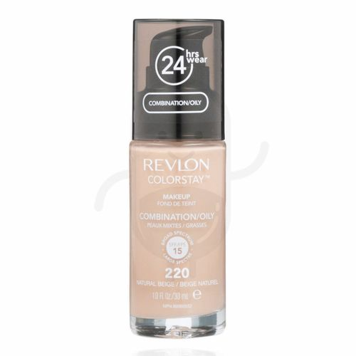 REVLON COLORSTAY MAKEUP COMBINATION OILY SKIN SPF 15 - NATURAL BEIGE