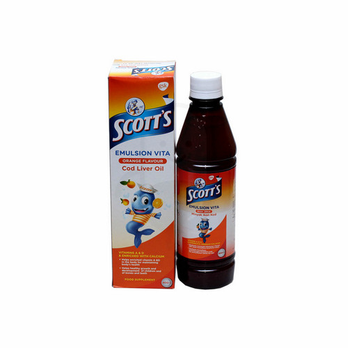 SCOTT'S EMULSION VITA RASA JERUK SIRUP 400 ML