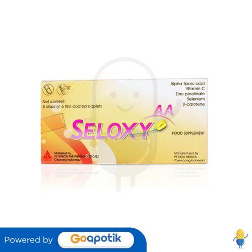 SELOXY AA BOX 30 KAPLET
