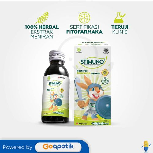 STIMUNO ORIGINAL SIRUP 100 ML